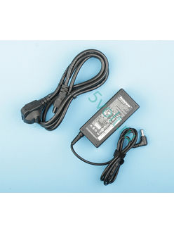 Блок питания (зарядка) для ноутбука Lenovo 65 Ватт (19V/3.42A) 5.5*2.5мм