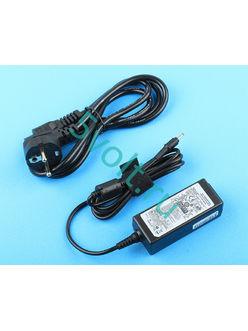 Блок питания (зарядка) для ультрабука Samsung 40 Ватт (19V/2.1A) 3.0*1.0мм