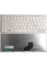 Клавиатура для Acer Aspire One 521, 522, 532H, 533 белая