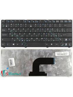 Клавиатура для ноутбука Asus N10, EeePC 1101HA черная