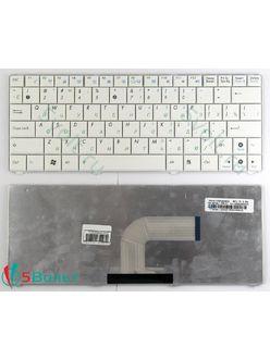 Клавиатура для ноутбука Asus N10, EeePC 1101HA белая
