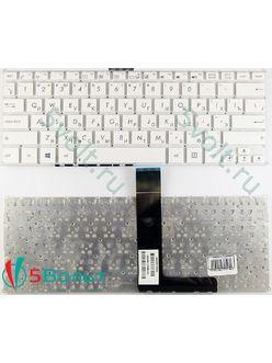 Клавиатура для ноутбука Asus VivoBook F200, F200M, F200Ma белая