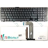 Клавиатура для Dell Inspiron 17R N7110 черная с подсветкой