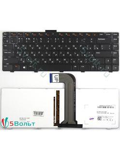 Клавиатура для ноутбука Dell Inspiron 5420, 5520, 7420 черная с подсветкой