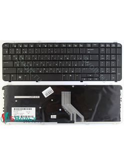 Клавиатура для ноутбука HP Pavilion DV6-1000, HP DV6 черная