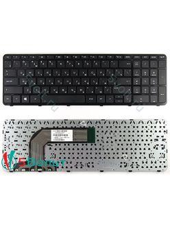 Клавиатура для ноутбука HP Pavilion 17-e000 серии черная с рамкой