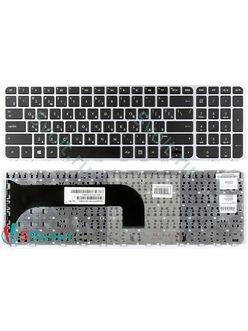 Клавиатура для ноутбука HP Envy M6-1000 черная с рамкой