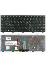 Клавиатура для Lenovo G40-70, G4070 черная с подсветкой