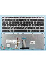 Клавиатура для Lenovo G40-30, G4030 черная с серой рамкой