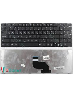 Клавиатура для ноутбука MSI CX640, CX640DX черная