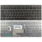 Клавиатура для MSI CX480, CR420, CR400 черная с золотой рамкой