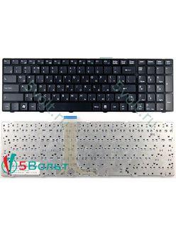 Клавиатура для ноутбука MSI A6200, A6205, A6500 черная