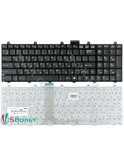 Клавиатура для ноутбука MSI MS-16F21, MS-16F3 черная