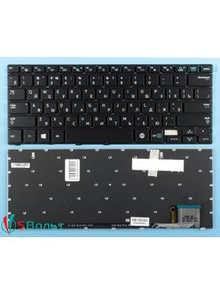 Клавиатура для ноутбука Samsung 740U3E, NP740U3E черная