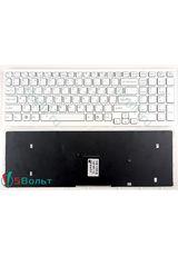 Клавиатура для Sony VPCEB, VPC-EB серии белая