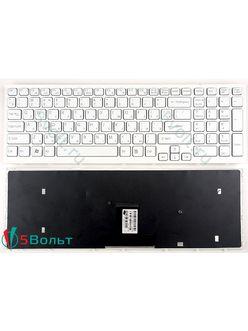 Клавиатура для ноутбука Sony PCG-71211V белая