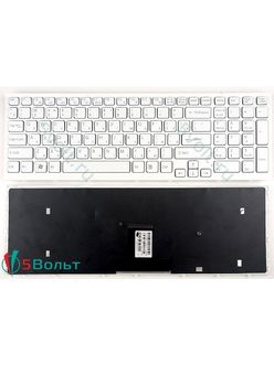Клавиатура для ноутбука Sony Vaio VPCEB, VPC-EB серии белая