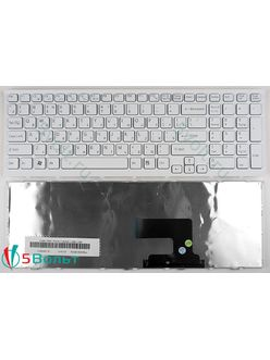 Клавиатура для ноутбука Sony Vaio VPCEE, VPC-EE серии белая