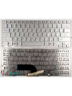 Клавиатура для ноутбука Sony PCG-41213V серебристая