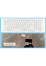 Клавиатура для Sony PCG-91312V белая
