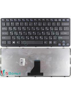 Клавиатура для ноутбука Sony Vaio SVE141B11V, SVE141J11V черная