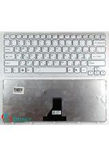 Клавиатура для Sony SVE141B11V, SVE141J11V белая