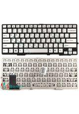 Клавиатура для Sony SVS1311L9R, SVS1313M1R, SVS131C1DV серебристая