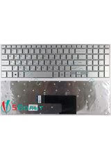 Клавиатура для Sony Vaio Fit SVF15A серии серебристая