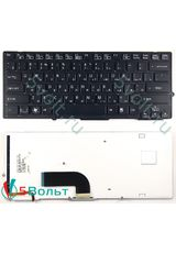Клавиатура для Sony PCG-41211V, PCG-41212V, PCG-41214V черная с подсветкой