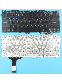 Клавиатура для ноутбука Sony SVP1322R4R черная