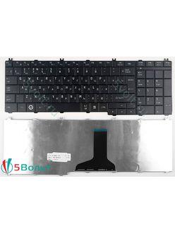 Клавиатура для ноутбука Toshiba Satellite L665, L665D черная