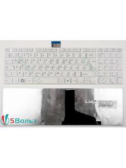 Клавиатура для ноутбука Toshiba Satellite L850, L850D, L855, L855D белая