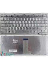 Клавиатура для Toshiba L450, L455, L510, L515 серебристая