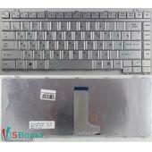 Клавиатура для Toshiba A200, A210 серебристая