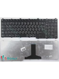 Клавиатура для ноутбука Toshiba Qosmio F50, F60, X300, X500 черная