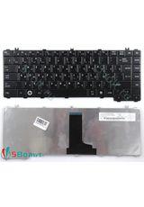 Клавиатура для Toshiba L700, L735, L345 черная глянцевая