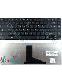 Клавиатура для ноутбука Toshiba Satellite C40, C40D черная