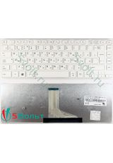 Клавиатура для Toshiba Satellite C40 белая