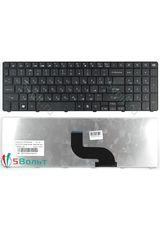 Клавиатура для Packard Bell TM81, TM85, TM99 черная