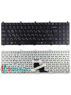 Клавиатура для ноутбука DNS W765S, W765Sun, W765K черная