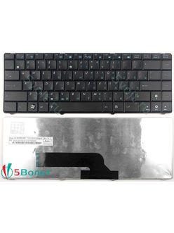Клавиатура для ноутбука Asus K40, X8, F82, P80, P81 черная