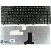 Клавиатура для Asus A42, N82, X42, X43 черная