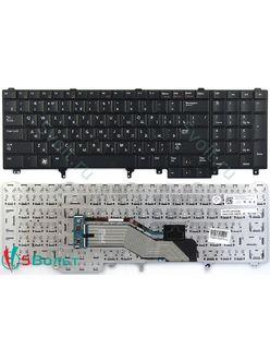 Клавиатура для ноутбука Dell Latitude E5520, E5530 черная