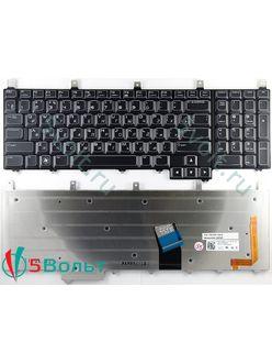 Клавиатура для ноутбука Dell AlienWare M17x черная с подсветкой