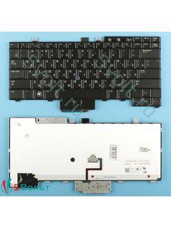 Клавиатура для ноутбука Dell E5400, E5410 черная с подсветкой