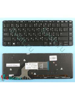 Клавиатура для ноутбука HP Probook 445 (G0, G1) черная с подсветкой