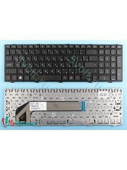 Клавиатура для ноутбука HP Probook 4540s черная с рамкой