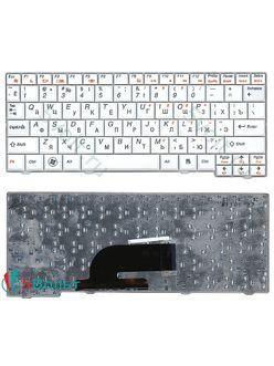 Клавиатура для ноутбука Lenovo S10-2, S10-3c белая