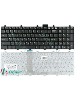 Клавиатура для ноутбука MSI GT780, GT783 черная