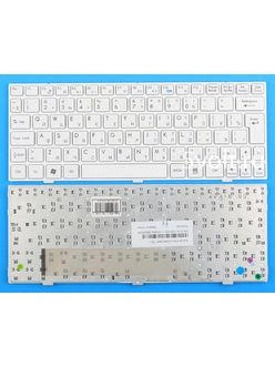 Клавиатура для ноутбука MSI L1350 белая